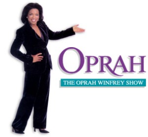 Imagining myself on Oprah
