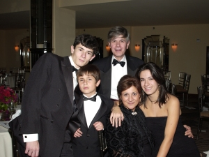 """My family at the Windflower Ball - October 2005"""