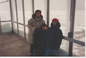 Mummy, Florentina, Andrew and The Hudson, Blizzard of '96