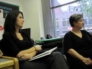 """""""Florentina & I - Monday, April 9, 2010 - The 1st Fair Meeting"""""""