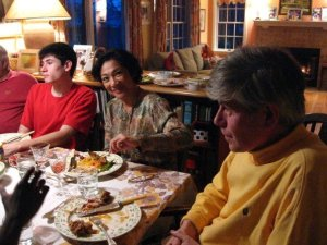 """""""Andrew at the Thanksgiving table - 2006"""""""