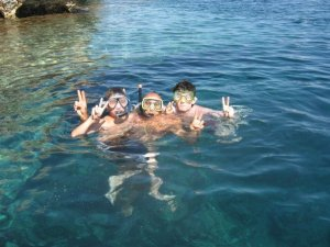 """Robert, my younger brother & Andrew in Sicily - August 2007"""