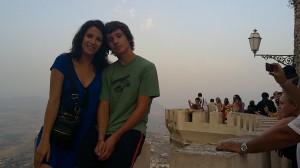 """Florentina & Robert - Erice, Sicily"" - August 15, 2010"