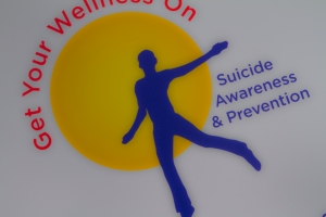 """Get Your Wellness On"" Poster"