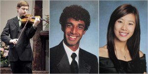 """""""Tyler Clementi"""", the victim and the two bullies"""