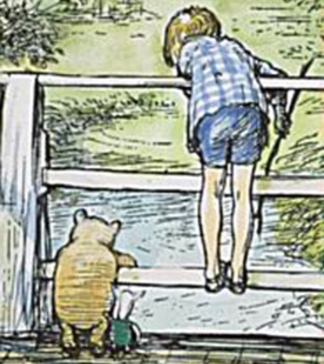 """Christopher robin and winnie the pooh"""