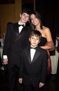 "Andrew, Florentina & Robert - ""Windflower Ball 2004 - Rainbow Room - Rockefeller Center, NY"""