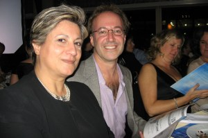 "October 28, 2010 - ""SIDS Activist - SIDS Fundraiser"" with my beloved friend Joshua Stillman, the attending physician when Alexander died"