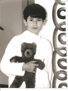 Eleven year-old Andrew & Bruno - Sydney - Australia, July 2000