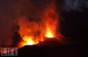 """Sicily - Mt. Etna"" strutting her stuff"