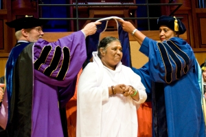 """Amma"" Receives Doctorate - Buffalo, New York, May 2010"