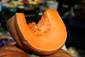 """Roman Pumpkin"" in season now"