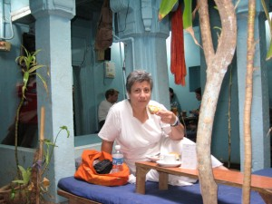March 16, 2008 - The German Bakery in Benares