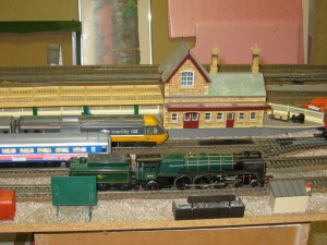 Part of Andrew's beloved train set