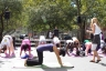 """Get Your Wellness On"" Fair 2010 - Yoga in Washington Square Park"