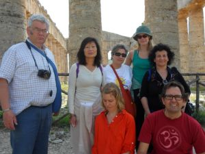 """Some of us in """"Segesta"""""""