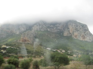 """The Mountain at """"Palermo's airport"""""""