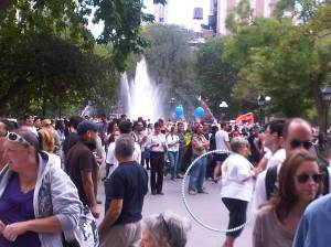 "Sept. 18, 2010. ""Washington Square Park - ""Get Your Wellness On"""" Suicide Awareness & Prevention Fair"