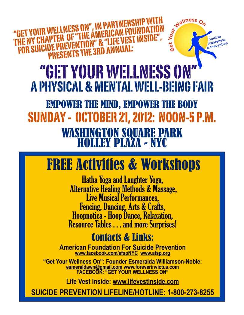 Get Your Wellness On Flyer 2012 - Manhattan