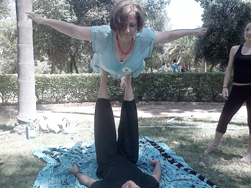 Esmeralda - Acro Yoga