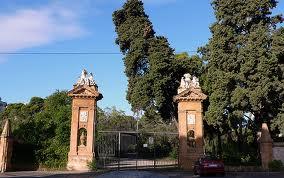 """""""Villa Trabia's entrance"""""""